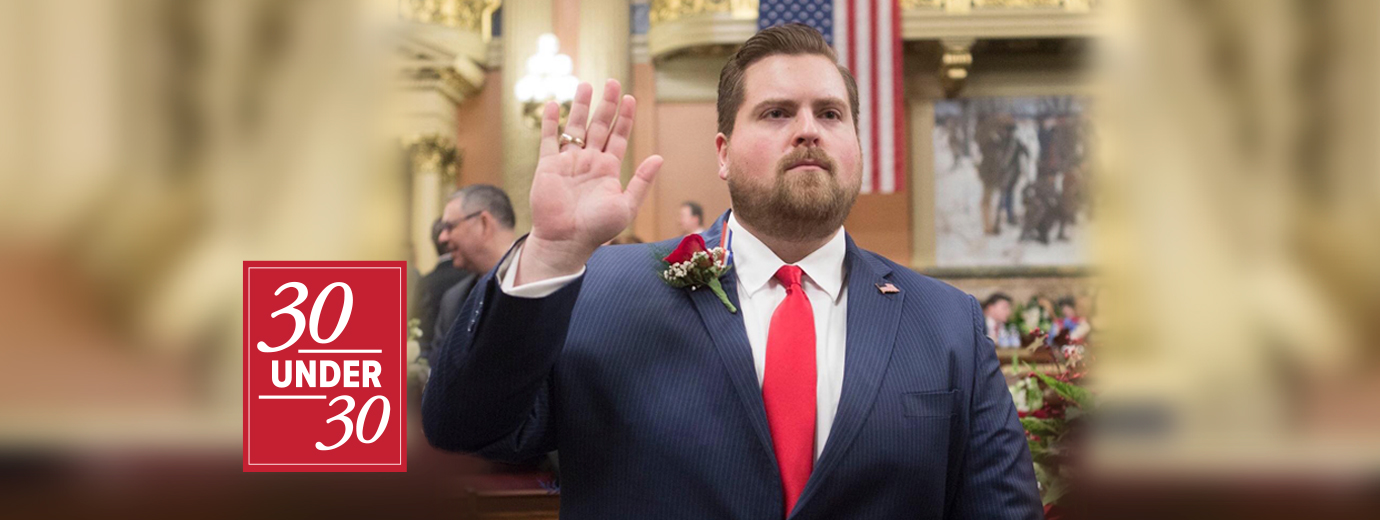 Communication Major Mike Puskaric Now a Member of the Pennsylvania House of Representatives
