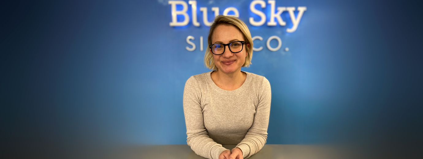 Graphic Design Grad Becomes Co-Owner of Blue Sky Sign Company