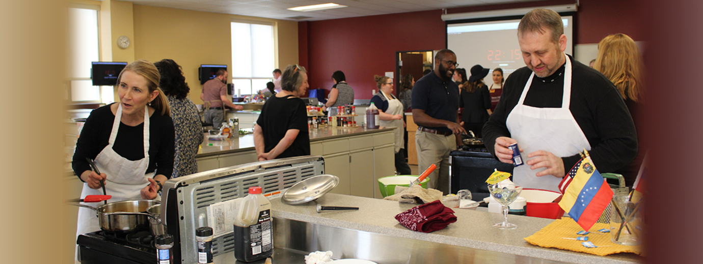 Dietetics Major Creates Cooking Competition for Faculty and Staff