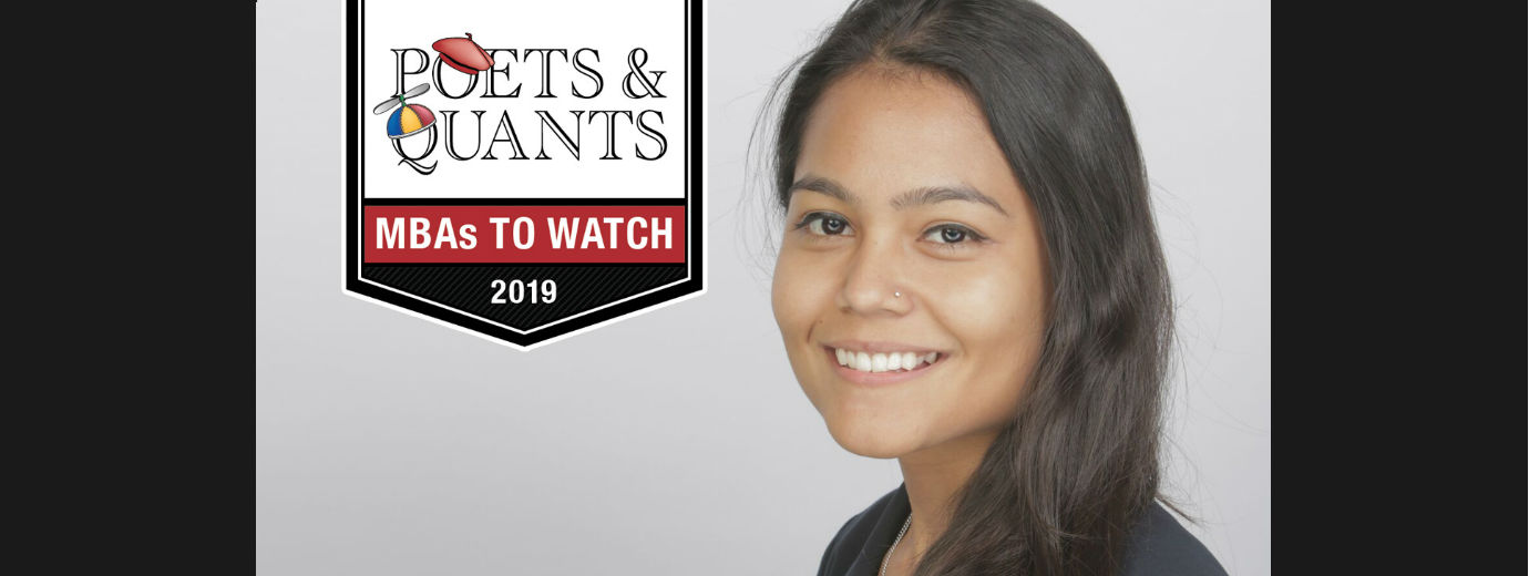 Alumna Dipeeka Bastola Named a 2019 MBA to Watch