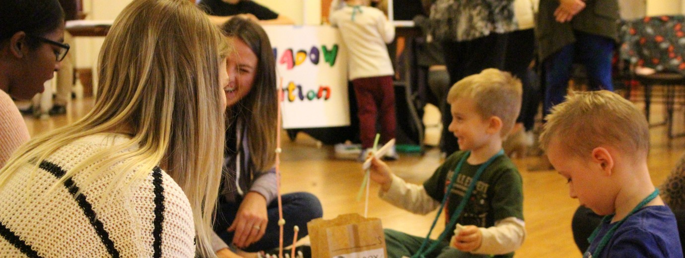Elementary Education Students Generate Excitement For Early Learning With CDC STEM Day
