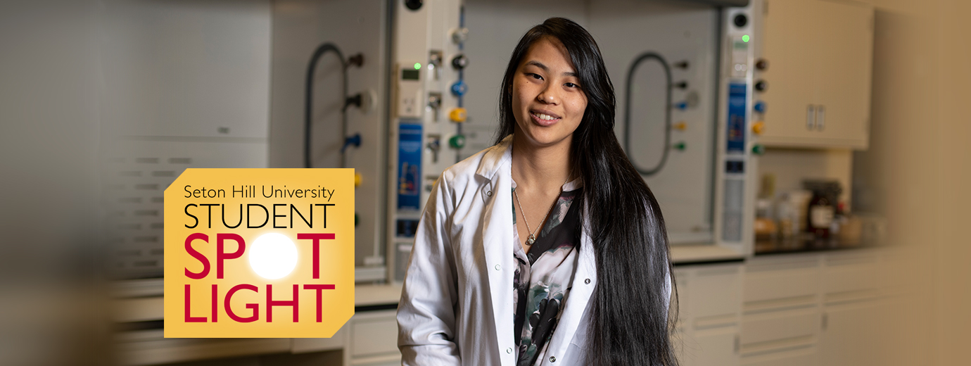 Biochem Major Conducts Independent Research with Anatomy, Anthropology and Chemistry Applications