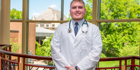 Adam Burke '19 Helping First-Responders Deal with Tragedy
