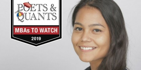 Alumna Dipeeka Bastola Named a 2019 MBA to Watch