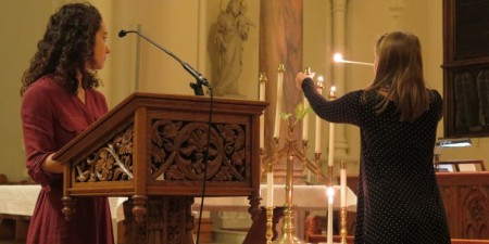 """Seton Hill's Kristallnacht Remembrance Interfaith Service on November 12, 2019 to Commemorate the 81st Anniversary of the """"Night of Broken Glass"""""""
