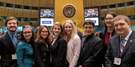 Seton Hill Model UN Team Honored with Group, Individual Awards