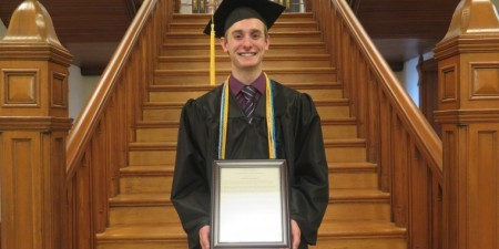 Steele Eckenrode Earns Seton Hill President's Award for Service