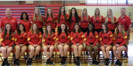 Inspired Seton Hill Volleyball Team Earns YWCA Team of the Year Award
