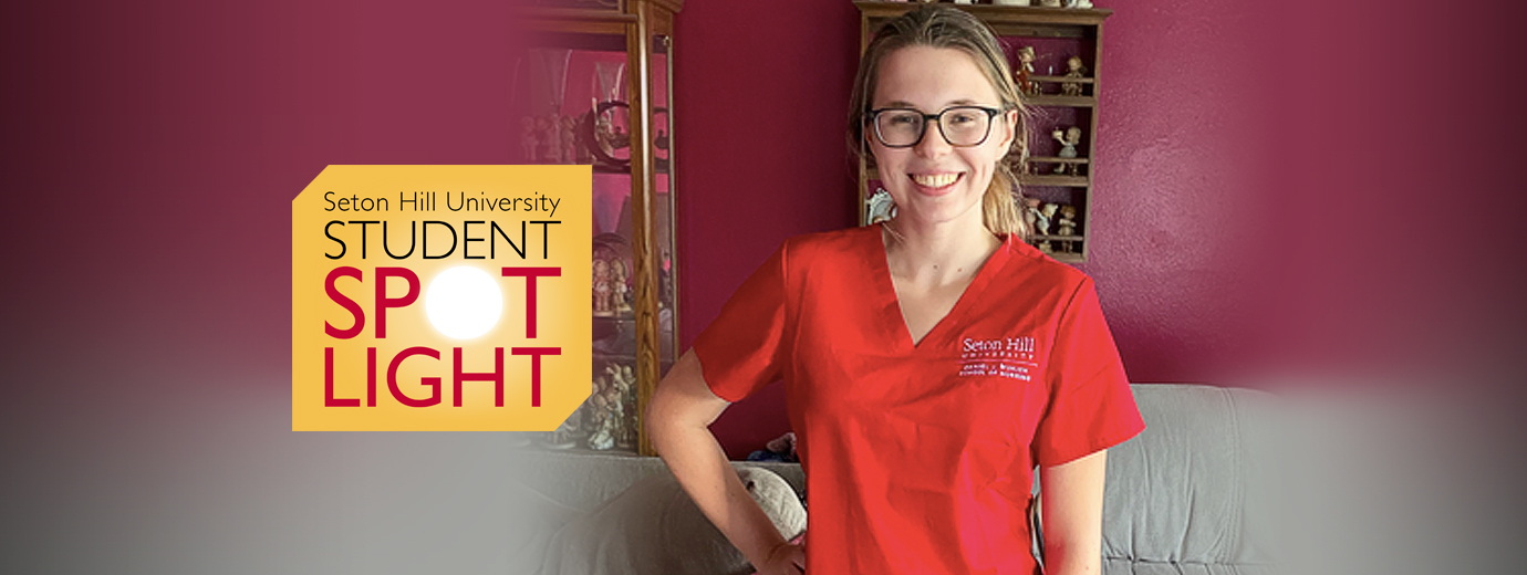 Nursing Student Enjoys Being One of the First
