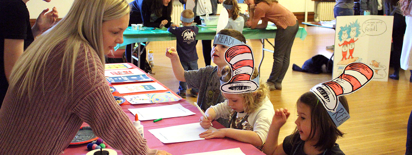 Elementary Education Students Create Read Across America Event for Children