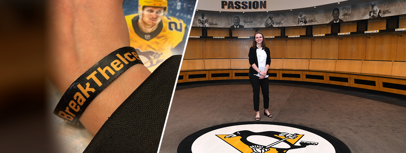 Communication Major Breaks the Ice at Pittsburgh Penguins Foundation