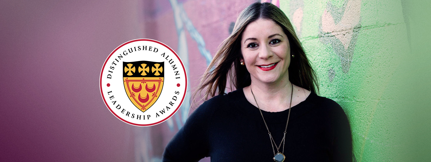 Successful Communication Professional Giovanna Rivera Receives 2020 Distinguished Alumni Award
