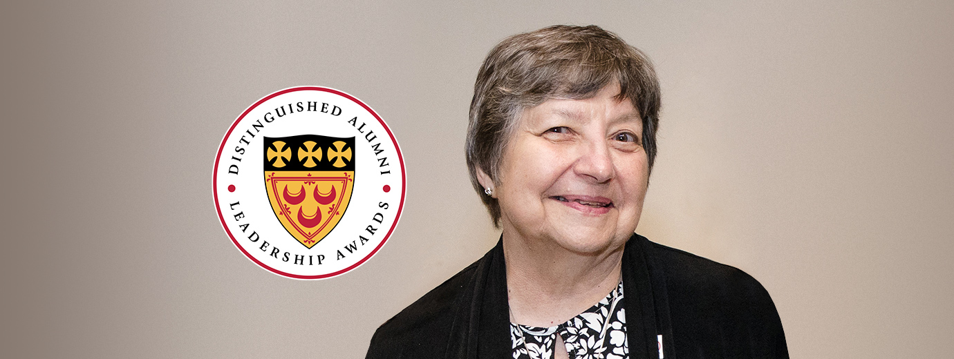 Sr. Victoria Marie Gribschaw, S.C. Receives 2020 Distinguished Alumni Award from Seton Hill