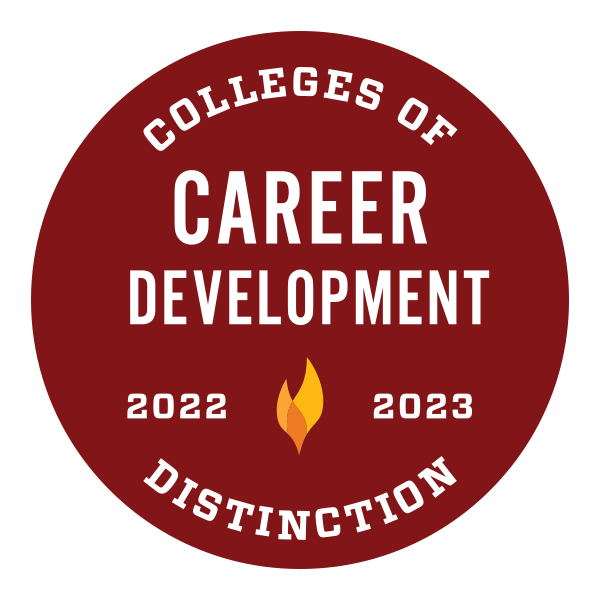 Named among the Colleges of Distinction for Career Development