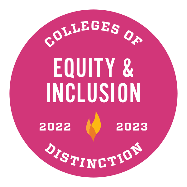 College of Distinction for Equity and Inclusion