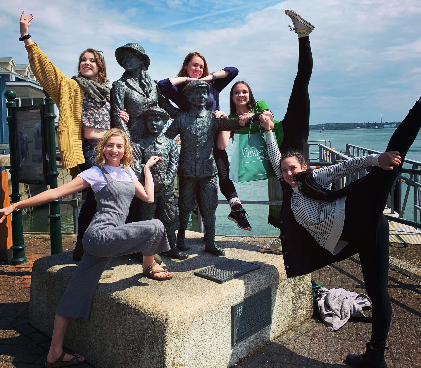 Seton Hill students in Ireland
