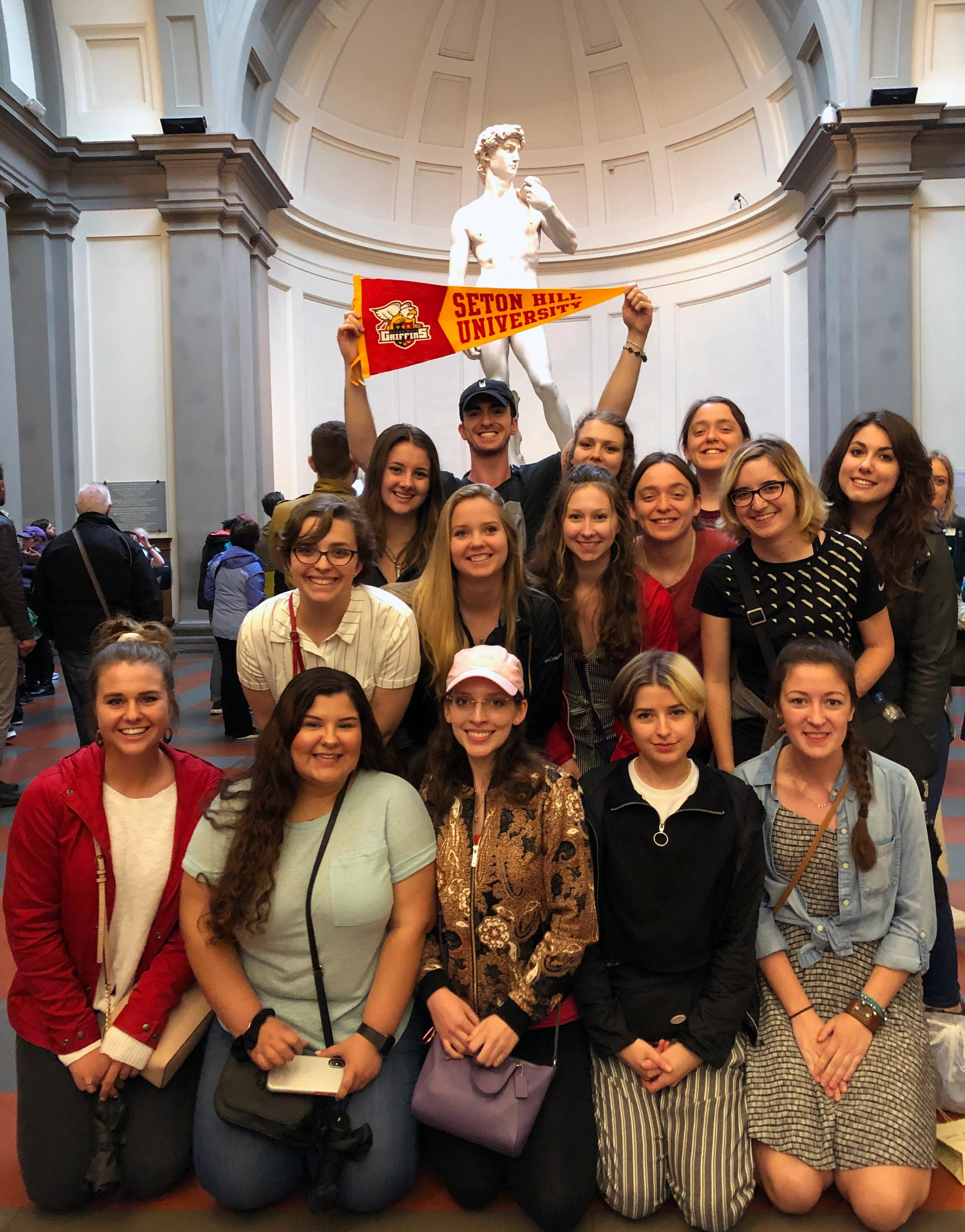 Seton Hill students in Italy