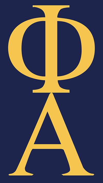 Phi Alpha Honor Society Logo